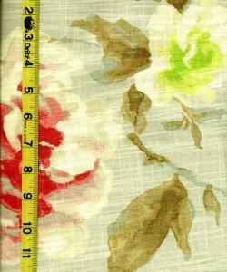 Floral Fruit Leaves 8/20/14