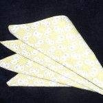 Handkerchief Origami Napkin Fold