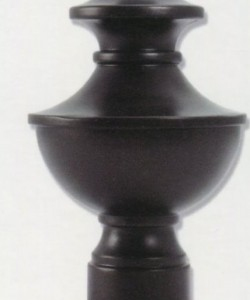 HSMTT1 turret finial - bronze 04